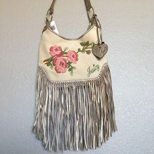 Juicy Couture Fringe Shoulder Bag.